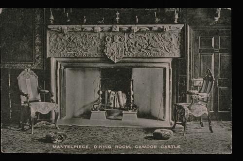 Mantelpiece, Dining Room, Cawdor