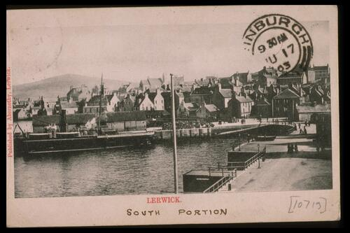 Lerwick, South Portion.