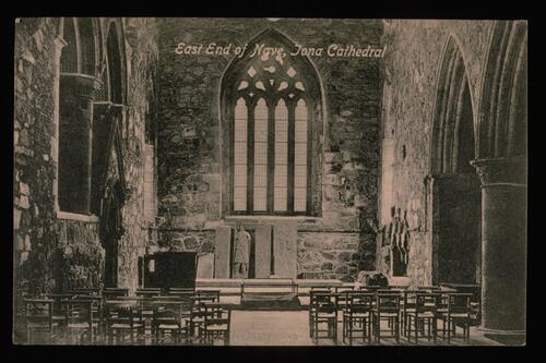 East End, Nave, Iona Cathedral.