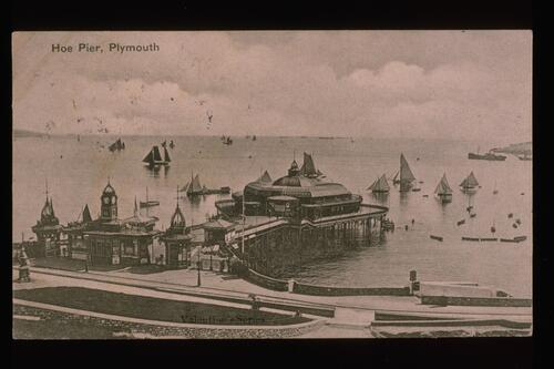 Hoe Pier, Plymouth.