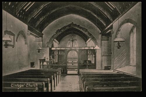 Tintagel Church.