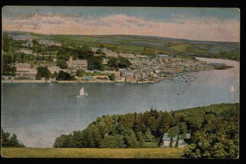 Salcombe from Portlemouth.