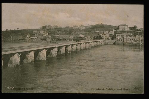 Bideford Bridge and Ford.