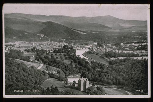Peebles from West.