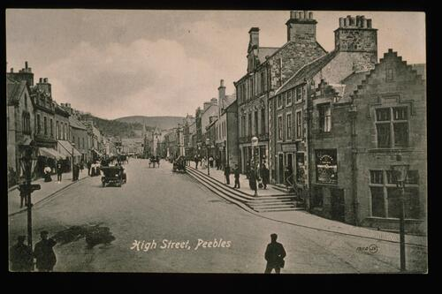 High Street, Peebles.