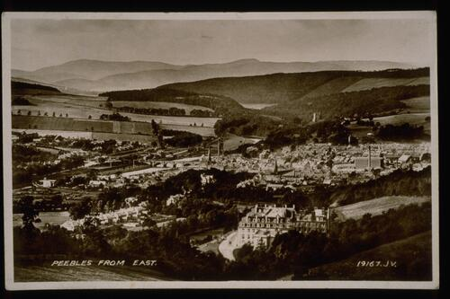 Peebles from East.
