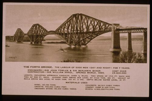The Forth Bridge.