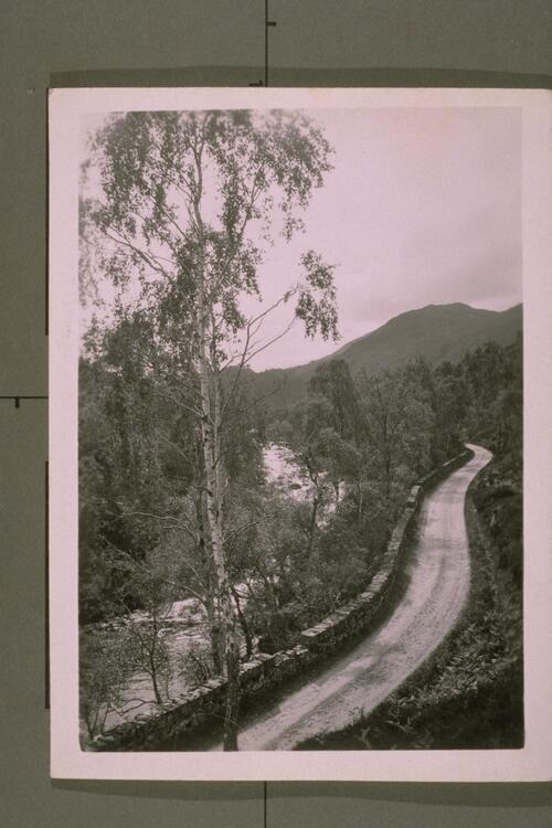 The Road through Glen Affaric.