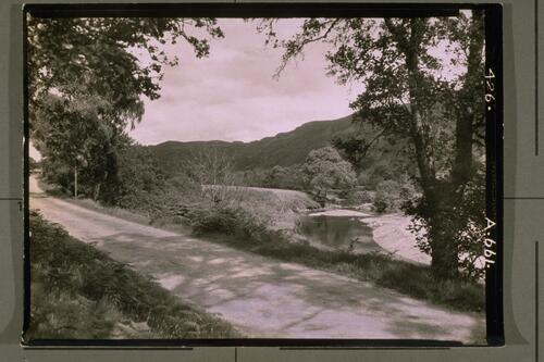 The road to Glen Affaric.