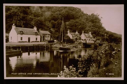 Post Office & Crinan Canal.