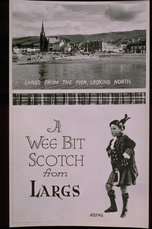 A Wee Bit Scotch from Largs.