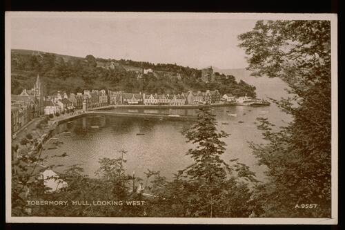 Tobermory, Mull, looking West.