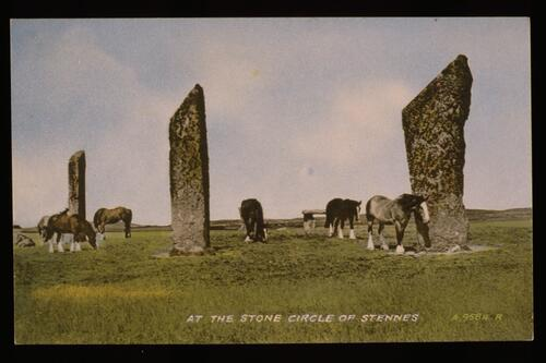Stones of Stennes, Orkney.