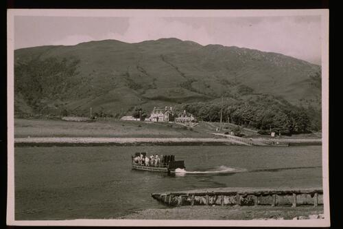 Ballachulish Ferry and Hotel.