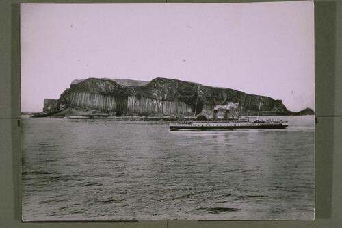 "Staffa & SS ""King George V""."