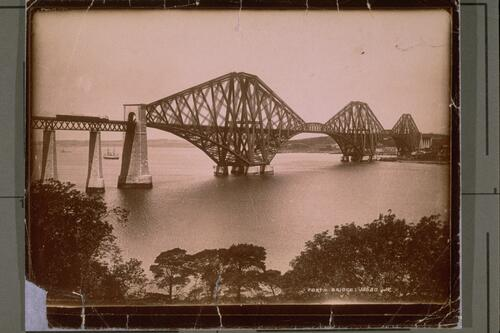 Forth Bridge from SE.