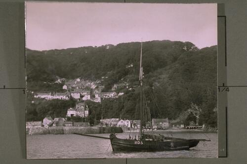 Clovelly from sea.