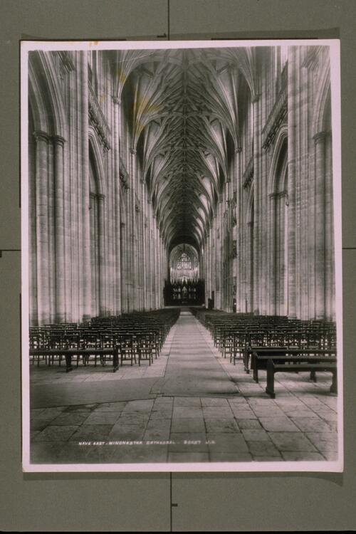 Nave East, Winchester Cathedral.