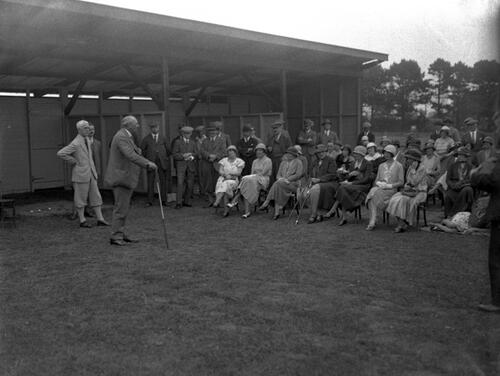 Opening of the Golf School, St Andrews