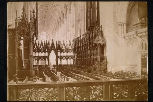 The Choir, Winchester Cathedral.