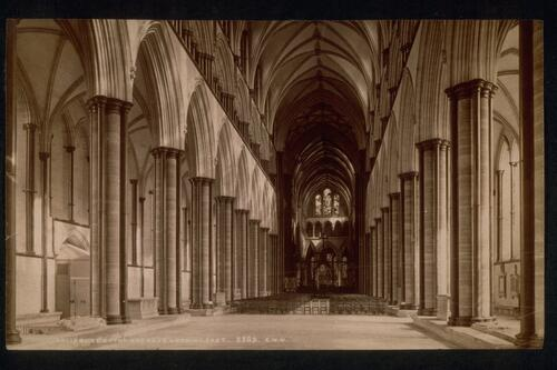 The Nave, Salisbury Cathedral.