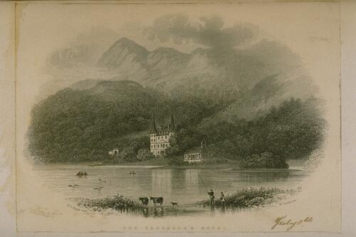 The Trossachs Hotel.
