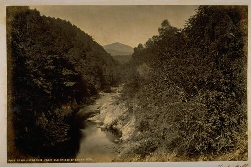Pass of Killiecrankie from the Old Bridge of Carry.