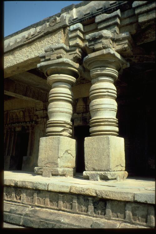 Turned columns, Somnathpur.