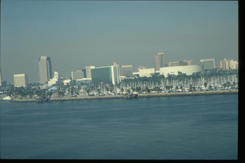 Long Beach from the Queen Mary.