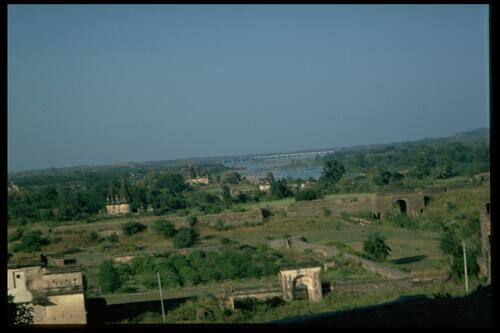 Landscape [at Orchha].