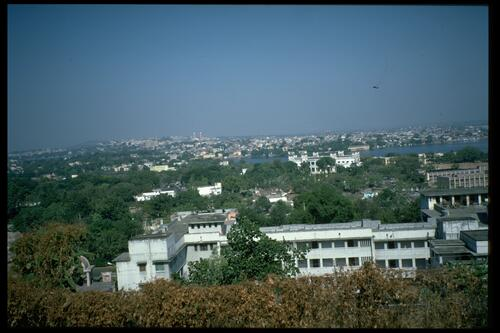 Panorama of Bhopal.