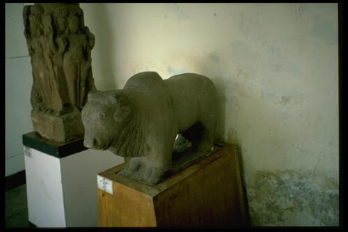 [Sculptures in the] State Archaeological Museum, Bhopal.