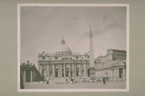 St Peter's, Rome.