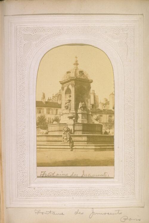 Steggall Photographic Album of the Buildings of Paris