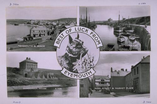 Best of Luck from Eyemouth.