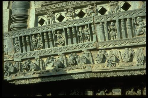 Chennakeshava Temple [carvings], Belur.