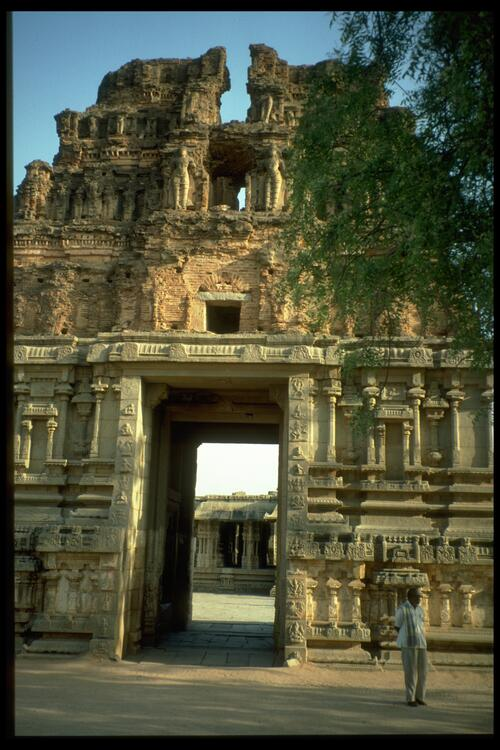 [Entrance], Vittala Temple, Vijayanagara.