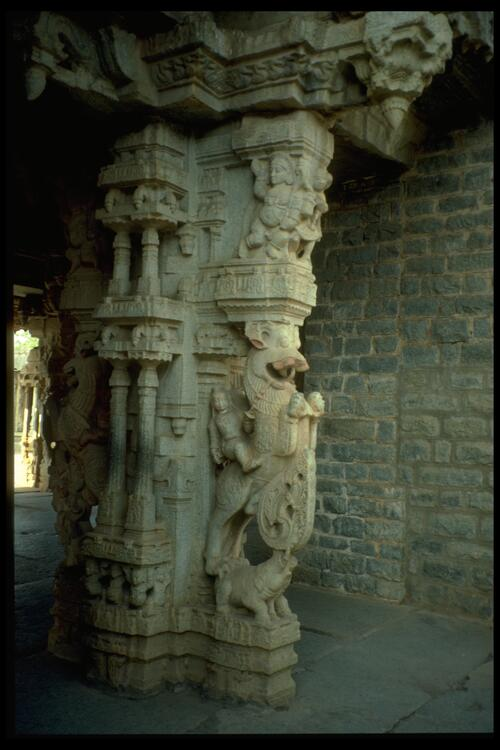 [Carvings], Vittala Temple, Vijayanagara.