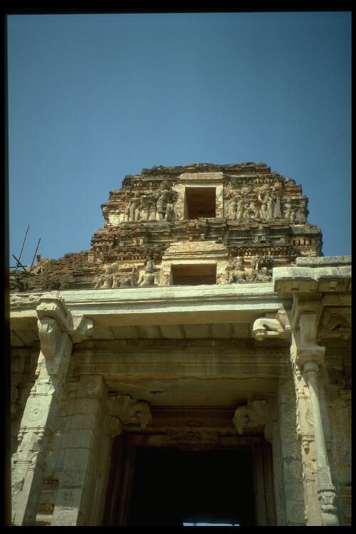 Krishna Temple [entrance], Vijayanagara.