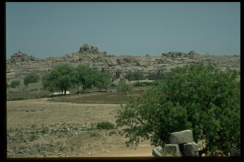 View from viewing platform, Vijayanagara.