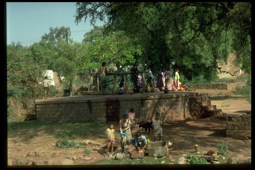 Women at the Well [India].
