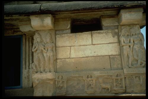 [Wall relief], Huchimalli temple, Aihole.