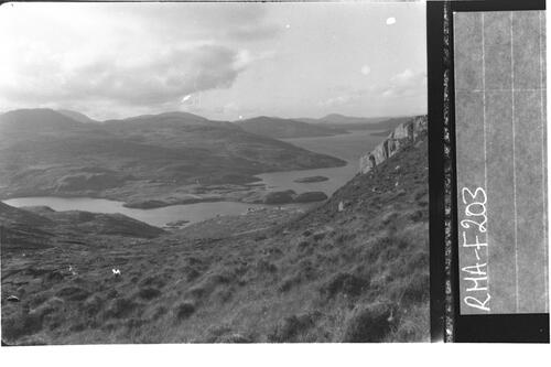 Loch Maaruig and Loch Seaforth.