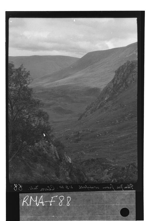 Glen Fee from the waterfall.