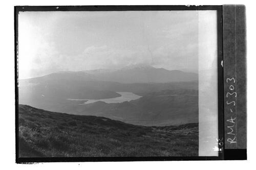Loch Drunkie and Ben Venue.