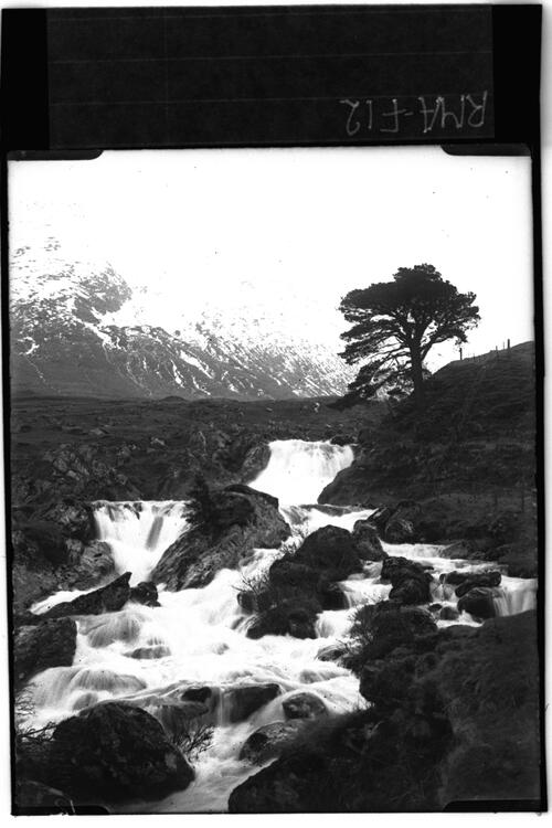Waterfall, Glen Dochart.