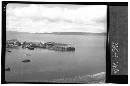 Mallaig Harbour and Pier.