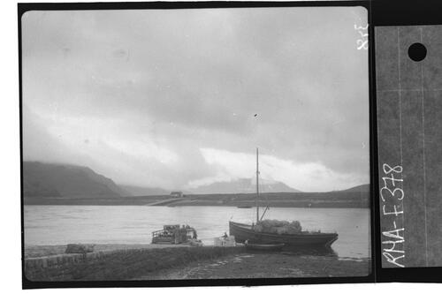 Arrival of the Dornie Ferry.
