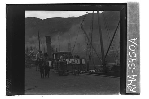 S.S. Sweethome, Mallaig Harbour.
