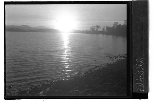 Sunset, Loch Insh.